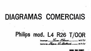 Esquema Rádio Transistorizado Philips L4 R26 T/00r Via Email