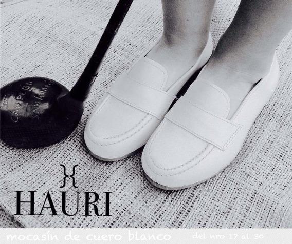 Mocasín De Cuero Para Niño Zapatos Nenes Calzados De Vestir