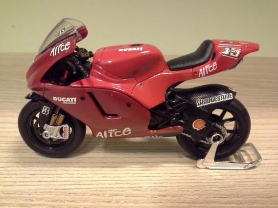Miniatura Motogp Ducati Sete Gibernau 15 Saico - Defeito