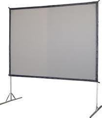 Pantalla Gigante Proyector 3x3m Dual Vision American Screens
