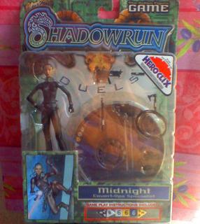 Shadowrun Midnight Heroclix Figura De Accion