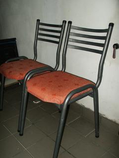 Sillas Caño ( Renovar Tapizado) X Unid