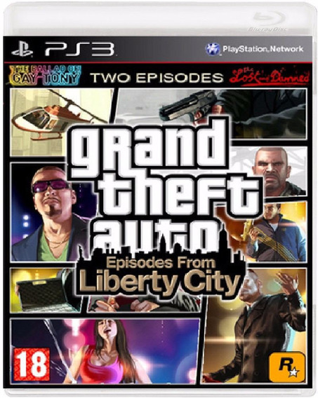 Gta Liberty City - Jogo Ps3