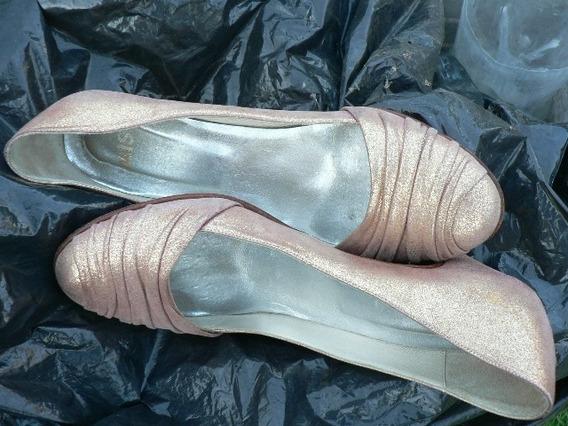 Zapato Finisimo Cuero Mishka Nº 38 713enanitos