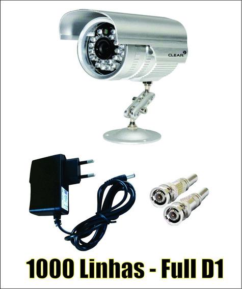 Câmera Ir 1000 Linhas, Ahd, 36 Leds, Sony, Completa.