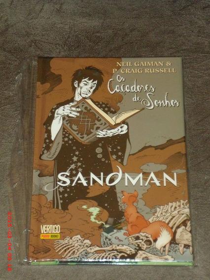 Sandman Os Caçadores De Sonhos - Edição De Luxo Em Capa Dura