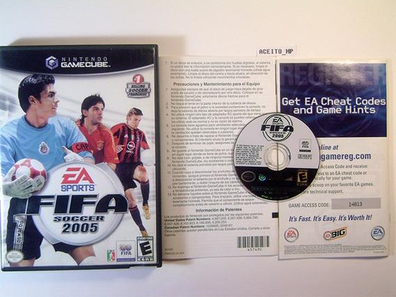 Fifa 2005 Usa Original Completo Gamecube Wii