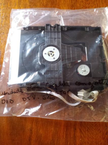 Unidade Otica Completa Com Mecanismo Dvd Tectoy Dvt-g100