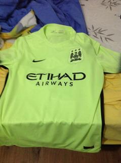 Camisa Manchester City Nike Manga Curta