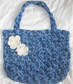 Eco Bag De Croche Bolsa Nova