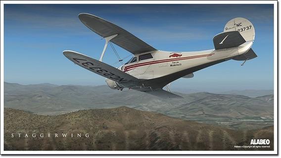 [fsx/p3d]aeronave D17 Staggerwing Microsoft Flight Simulator