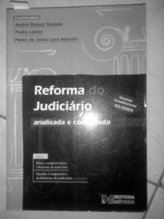 Reforma Do Judiciário Analisada E Comentada Emenda Constituc