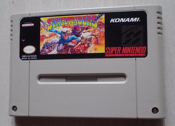 Sunset Riders Super Nintendo - Snes