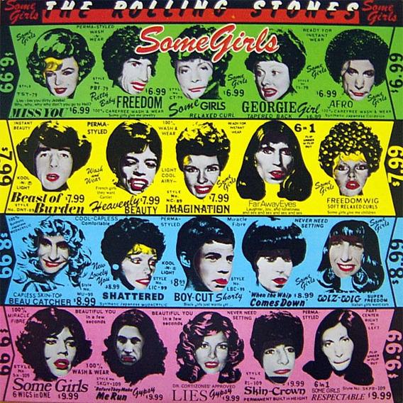 Rolling Stones - Some Girls - U