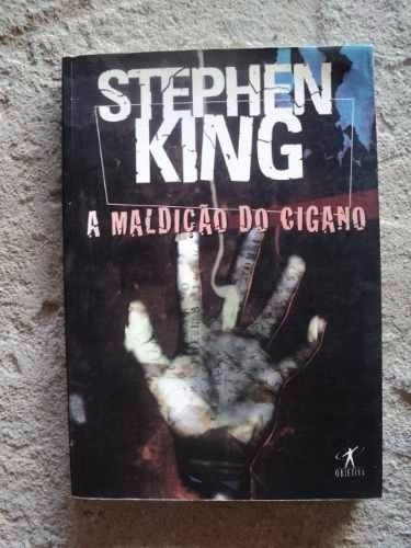 Livro - A Maldição Do Cigano - Sthephen King