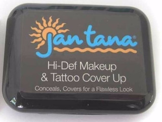 Jan Tana Tattoo Cover E Makeup (maquiagem Cobre Tatuagem)