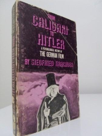 Livro- From Caligari To Hitler - Siegfried Kracauer - Cinema