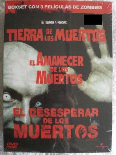 Zombies Set 3 Peliculas : Land , Dawn Y Shaun Of Dead