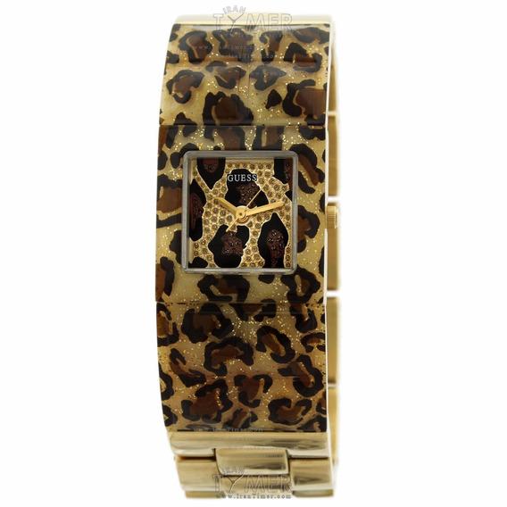 Relogio Feminino Guess W0052l2 Dourado Bracelete Original