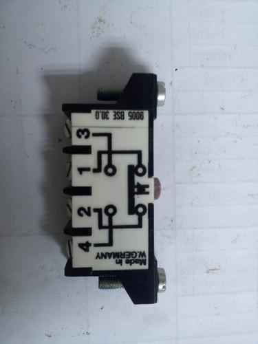 Micro Switch Tipo Pulsador Electrico Nc Y No 12949