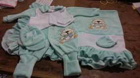 Kit Saída Maternidade De Plush Para Menino