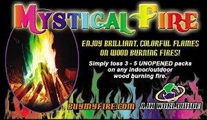 Místico Fuego Hoguera Chimenea Colorante Paquetes 12 Paquete