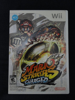 Juego Nintendo Wii Mario Strikers Charged
