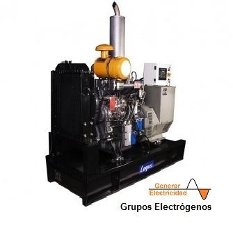 Grupo Electrógeno 120 Kv Logus 125 Br