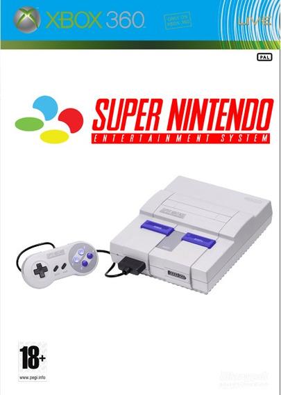 3125 Jogos De Super Nintendo Snes Para Xbox 360 Rgh / Jtag