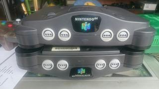 Maquina Nintendo 64 Solo Consola N64 Black Nintendo64 Nes