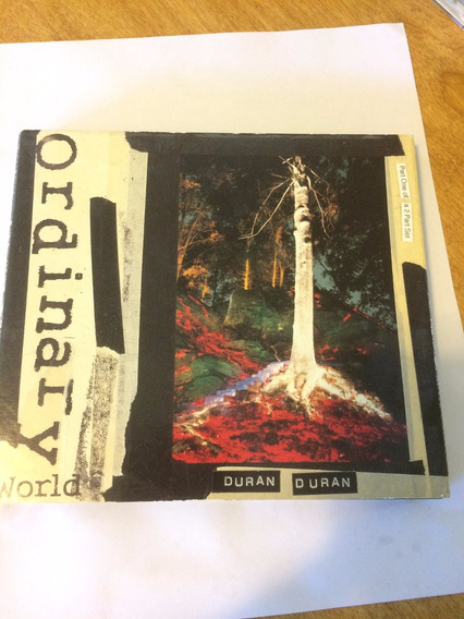 Duran Duran Ordinary World 2cd Autografiado John Taylor