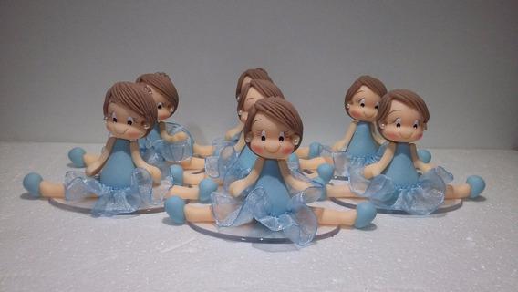 Lembrancinha Bailarina Biscuit-40 Unidades