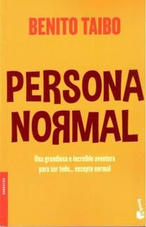 Persona Normal - Benito Taibo - Nuevo - Original