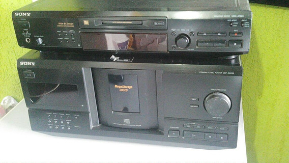 Compact Disc Player Sony 200 Cd E Mini Disc Sony Md