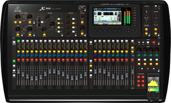Mesa Digita Behringer X32 Pro Shows 2 Anos De Garantia