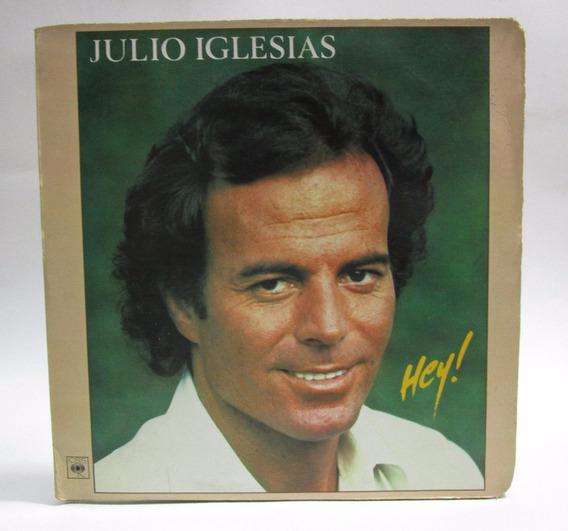 Julio Iglesias -hey !!!! Lp De Cbs De 1980 Con Letras!!