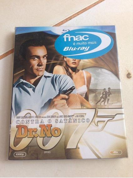 Filme Clássico Bluray James Bond 007 Contra Dr No Lacrado