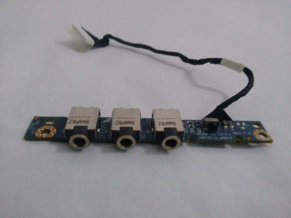 Conector Microfone Notebook Hp Pavilion Dv4 2012br