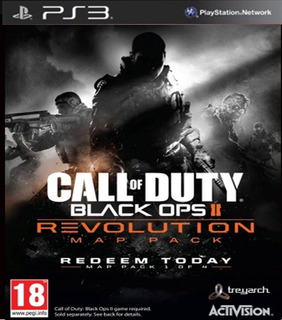 Call Of Duty: Black Ops 2 + Revolution Map Pack - Ps3