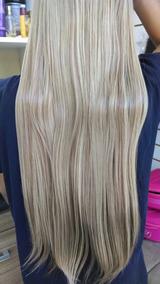 Mega Hair Aplique Tic Tac Fibra Orgânica Várias Cores