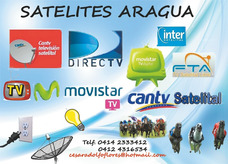 Satelites Aragua Todo En Tv Por Cable Y Satelital