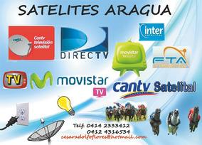 Satelites Aragua Todo En Tv Por Cable Y Satelital