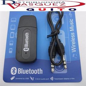 Receptor Usb De (audio) Música Mediante Bluetooth A Auxiliar
