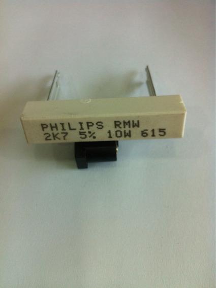 Resistor Ceramico 2k7 10w Kit C/10pçs