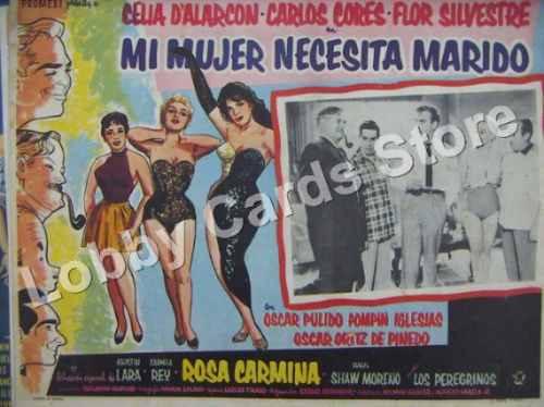Lobby Cards.carteles.cecilia D´ Alarcon.peliculas