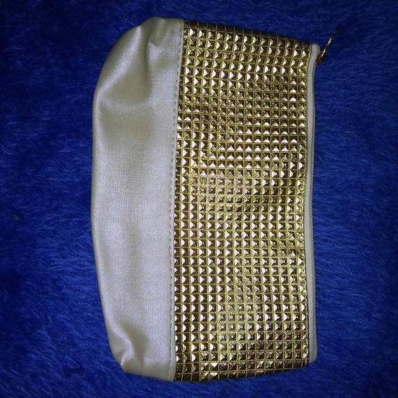 Bolsa Chique Eudora Dourada - Couro Sintético