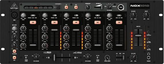 Mixer Dj De 5 Canais De Ultima Geração Behringer Nox1010