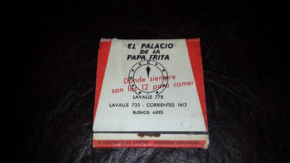 Cajita De Fosforos Del Palacio De Las Papas Fritas.coleccion