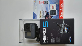 Gopro Hero 5 Black+ Sandisk Extreme 32gb 4k