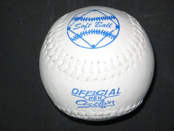 Pelota Softbol Aztlan Docena Oficial Reglamentaria Pelotas